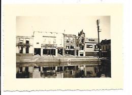 Willebroek 1940 - In Brand Geworpen Door De Duitsers - Foto (10x7,5cm). - Willebroek