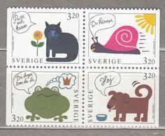 SWEDEN SVERIGE SUEDE 1994 Greetings MNH (**) Mi 1836 - 1839  #18366 - Nuevos