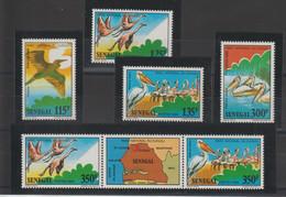 Sénégal 1987 Oiseaux 732-737 6 Val ** MNH - Senegal (1960-...)
