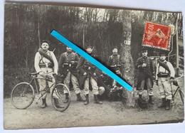 1913 Rueil 8 Eme Régiment Du Génie Cyclistes Sapeurs Télégraphistes Transmissions 14 18  Tranchée Poilu Photo Ww1 - Guerra, Militari