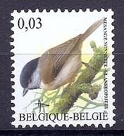 BELGIE * Buzin * Nr 3389 * Postfris Xx * DOF WIT  PAPIER - 1985-.. Pájaros (Buzin)