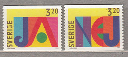 SWEDEN SVERIGE SUEDE 1994 MNH (**) Mi 1852 - 1853  #18373 - Nuevos