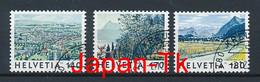 SCHWEIZ Mi. Nr. 1655-1657 Freimarken: Bilder Der Schweiz - Used - Used Stamps