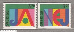 SWEDEN SVERIGE SUEDE 1994 MNH (**) Mi 1867 - 1868 #18376 - Nuevos