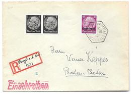 Moselle - L Rec. - Obl. COURCELLES S NIED MOSELLE - 22.10.1940 - Elzas-Lotharingen