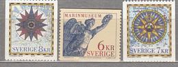 SWEDEN SVERIGE SUEDE 1997 Museum Map MNH (**) Mi 2006 - 2008 #18411 - Nuevos