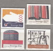 SWEDEN SVERIGE SUEDE 1998 Hancrafts MNH (**) Mi 2039 - 2042 #18424 - Nuevos