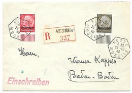 Moselle  - L Rec. Obl. HESSE / MOSELLE - 24.10.1940 - Elzas-Lotharingen