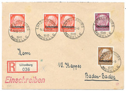 Moselle  - L Rec. Obl.LUTZELBOURG / MOSELLE - 22.09.1940 - Elzas-Lotharingen