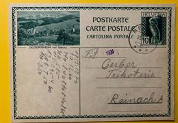 13396 - Degersheim Mit Säntis Mettau 23.06.1931 - Enteros Postales
