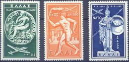 Greece 1954 N.A.T.O. MNH LUX VF/XF - Nuovi