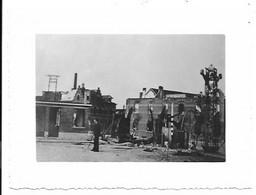 Willebroek - Oorlogsbeelden Uit 1940-45 - 5 Foto's (11x8cm). - Willebroek