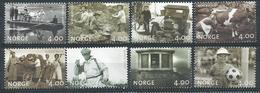 Norvège 1999 N°1274/1281 Neufs** Millénaire - Unused Stamps