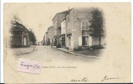CHAMPLITTE Rue De La République (pionnière) - Andere Gemeenten