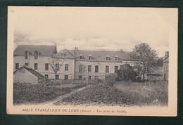 CP - 02 - Asile Evangélique De Lemé - Vue Prise Du Jardin - Andere Gemeenten