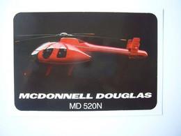 Avion / Airplane / Helicopter / MCDONNEL DOUGLAS / MD 520N - Elicotteri