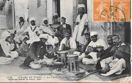 P/c      Algérie       Blida          Au Café Maure - Blida