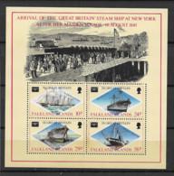 1986 MNH Falkland Islands Mi Block 6 Postfris** - Islas Malvinas