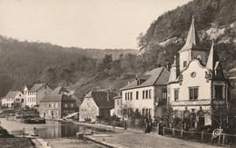 CARTE POSTALE 09CM/14CM PHOTO ORIGINALE DENTELEE : LUTZELBOURG LES BORDS DU CANAL MOSELLE (57) - Sonstige Gemeinden