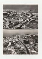 4 CPSM: NOIMOUTIER (85) L'HERBAUDIÈRE,LE GOIS,PLAGE DE LUZÉRONDE,ILE - Noirmoutier
