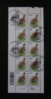 Buzin Velletje Patrijs 3381 Afgestempeld + Gehandtekend - 1985-.. Birds (Buzin)