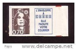 1993.N°5b  MARIANNE DU BICENTENAIRE.N°2824a - Adhesive Stamps