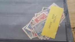LOT530322  TIMBRE DE FRANCE OBLITERE ANNEE 1939 - Gebruikt