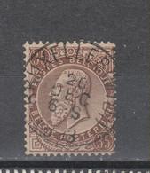COB 49 Oblitération Centrale BRUXELLES (MIDI) - 1884-1891 Leopold II