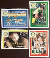 Norfolk Island 2005 Rotary Anniversary MNH - Isola Norfolk