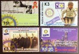 Papua New Guinea 2005 Rotary Anniversary MNH - Papua Nuova Guinea