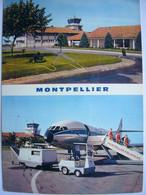 Avion / Airplane / AIR INTER / Caravelle / Seen At Montpellier Airport - 1946-....: Era Moderna