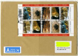 Belgium 2012 Circulated Cover - 2003 Minerals Full Sheet - Minerals