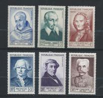 Tinbres France Neuf Yvert Et Tellier N° 945 à 950 - Unused Stamps