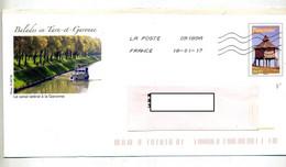 Pap Pigeonnier Flamme Chiffrée Illustré Canal  Garonne - Prêts-à-poster: Other (1995-...)