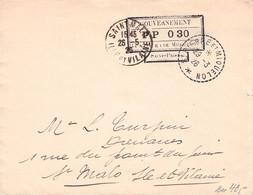 St. PIERRE & MIQUELON - ENVELOPPE GOUVERNEMENT 1926 > St. MALO / G164 - Lettres & Documents