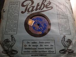 Disque 78 Tours PATHE - ( Fleur D'amour - Somebody Love Me ) - 78 G - Dischi Per Fonografi