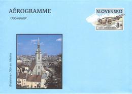 SLOWAKIA - AEROGRAMME 8 SK 1998 Unc / G166 - Aerogramas