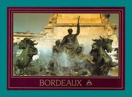 33 Bordeaux Fontaine Les Chevaux De Bronze - Unclassified
