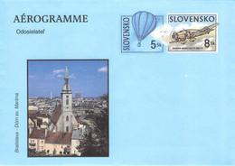 SLOWAKIA - AEROGRAMME 8 + 5 SK Unc / G167 - Aerogramas