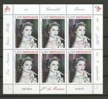 Feuillet  2007 Monaco Neuf **  N 2596 Vendu Au Prix De La Poste - Non Classificati