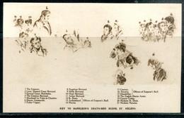 SAINTE HELENE - St. HELENA - Key To NAPOLEON's Death-bed Scene (carte Vierge) - Saint Helena Island