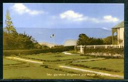 SAINTE HELENE - St. HELENA - The Garden's Longwood Old House (NAPOLEON) (carte Vierge) - Sainte-Hélène