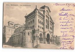 *** CATHEDRALE 601 1903 Précurseur  ***  Monaco MONTE CARLO  MN200 - Saint Nicholas Cathedral