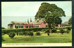 SAINTE HELENE - St. HELENA - Longwood House, Maison De L'Empereur NAPOLEON (carte Vierge) - Sainte-Hélène