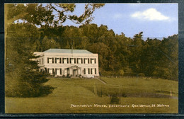 SAINTE HELENE - St. HELENA - Plantation House, Governor's Residence (carte Vierge) - Sainte-Hélène
