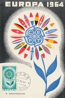 Europa 1964 (2 Cartes) - Maximumkaarten