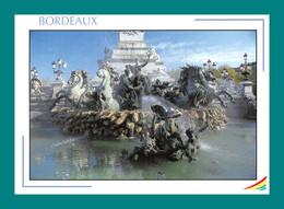 33 Bordeaux La Fontaine Du Monument Des Girondins - Bordeaux