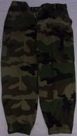 Pantalon De Treillis De Combat Bariolé Camouflage TE Taille 96 C Neuf Armée Française - Uniforms