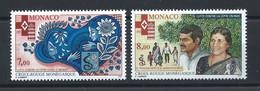 Monaco N°2000/01** (MNH) 1995 - Croix Rouge - Ungebraucht