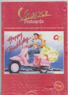 VESPA Postcards , 16 Splendide Cartoline E Storia Dello Scooters Che Ha Conquistato Il Mondo - Motori